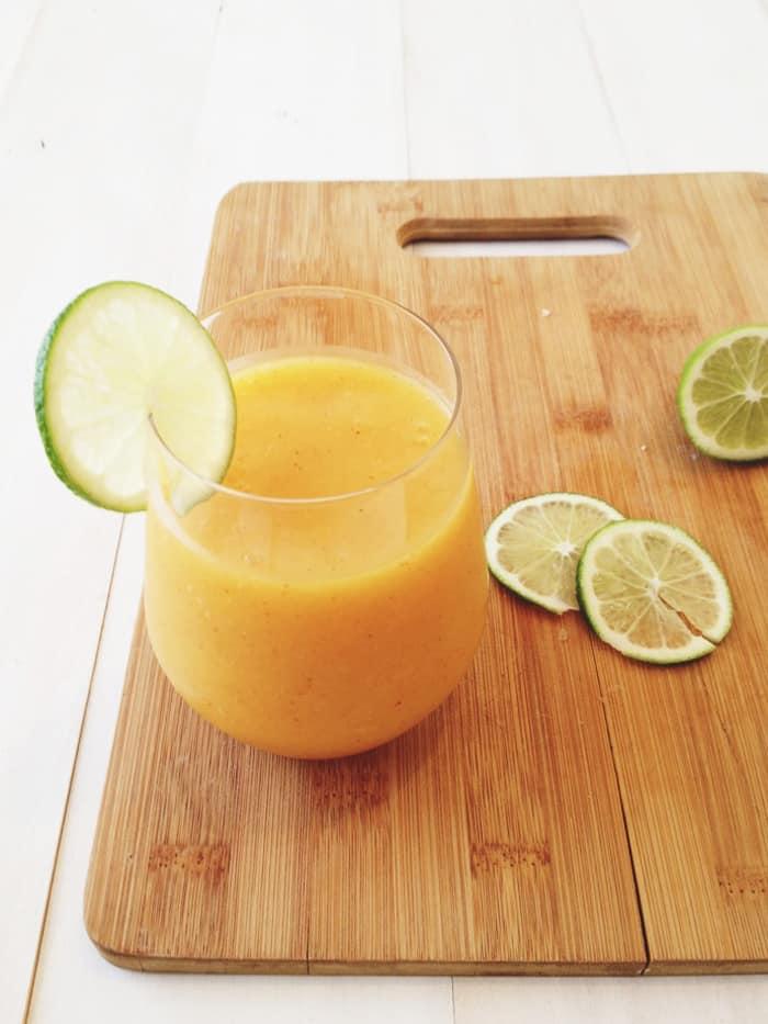 Chili Lime Mango Smoothie