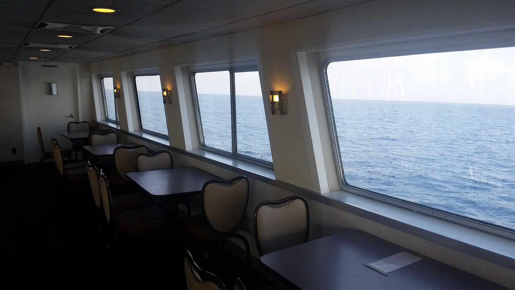 Inside Cabin Hornblower