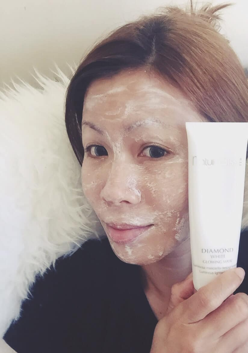 Best Facial Mask of Summer 2015 : Nature Bisse Diamond White Mask