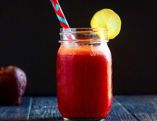 Pomegranate Beet Juice
