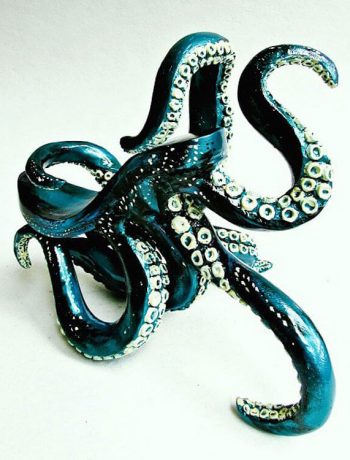octopus-inspired high heel