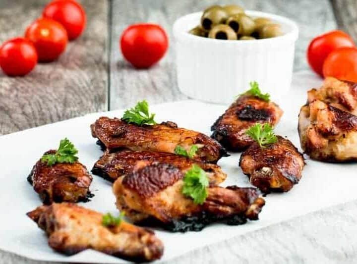 Five Spice Ginger Soy Glaze Chicken Wings Recipe