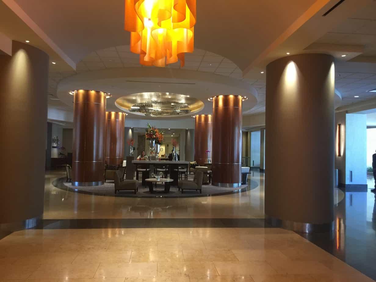 Anaheim Marriott - Hotel Lobby