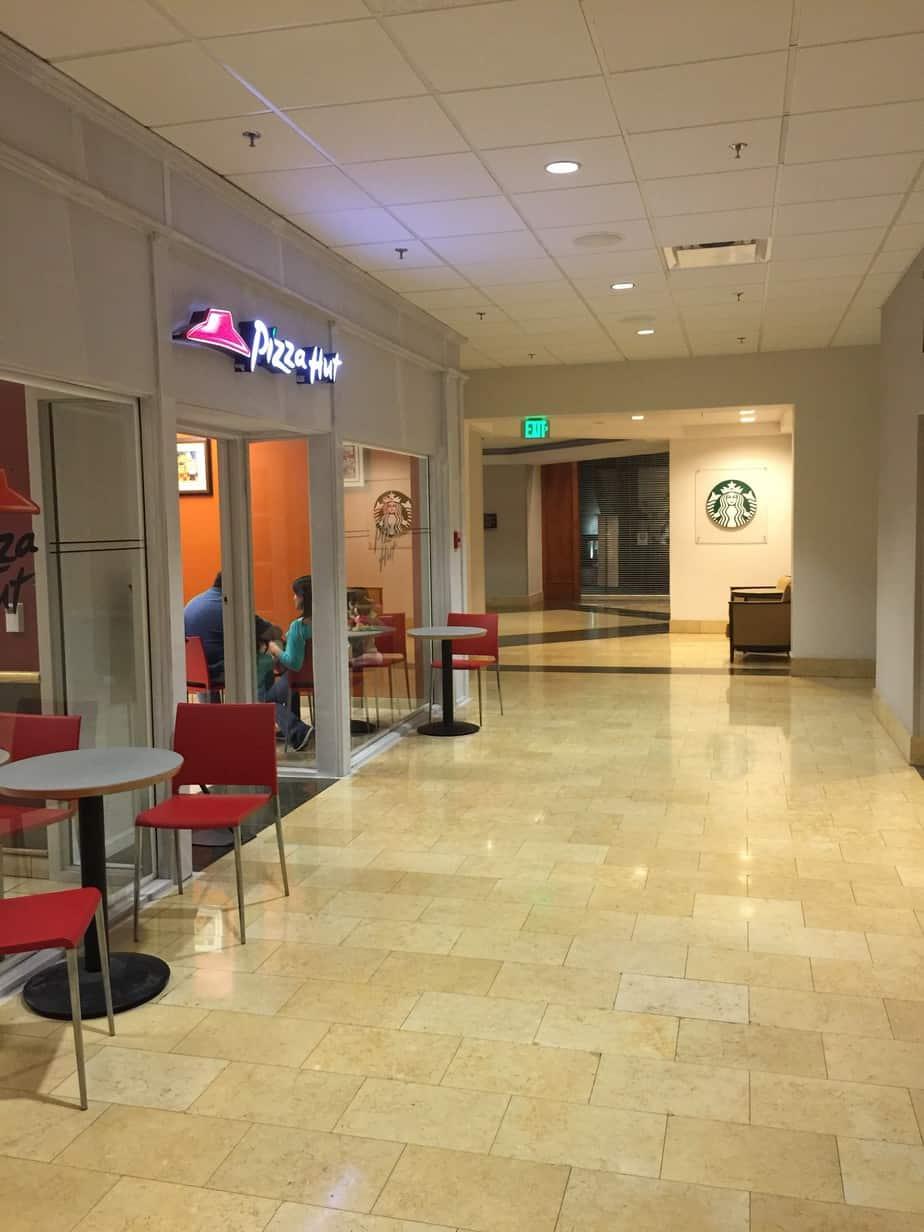 Anaheim Marriott – Starbucks, Pizza Hut, Hertz, FedEx Office