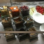 Anaheim Marriott Nfuse Buffet