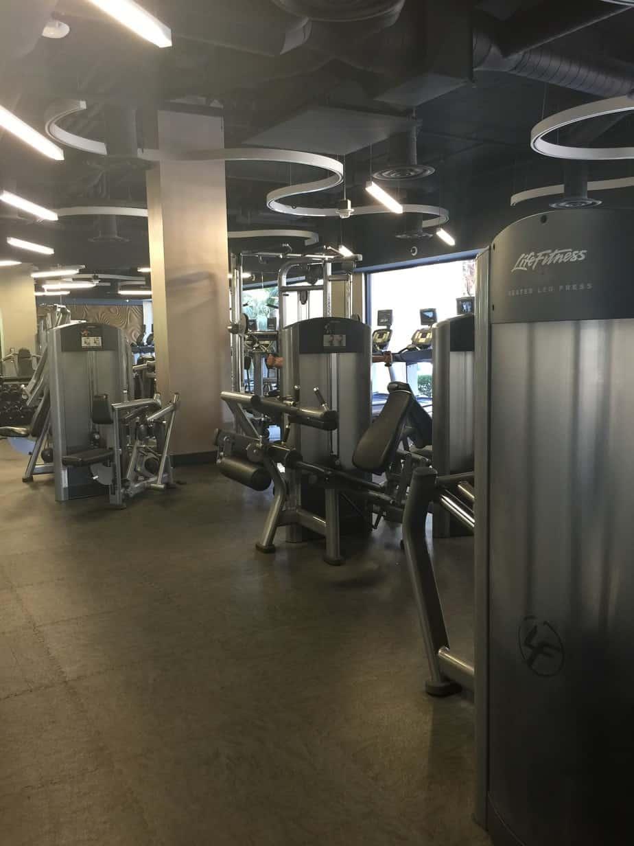 Anaheim Marriott – Gym