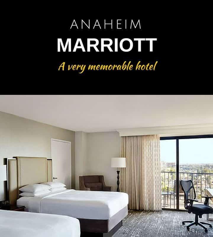 Anaheim Marriott Hotel near Disneyland - Hotel Review