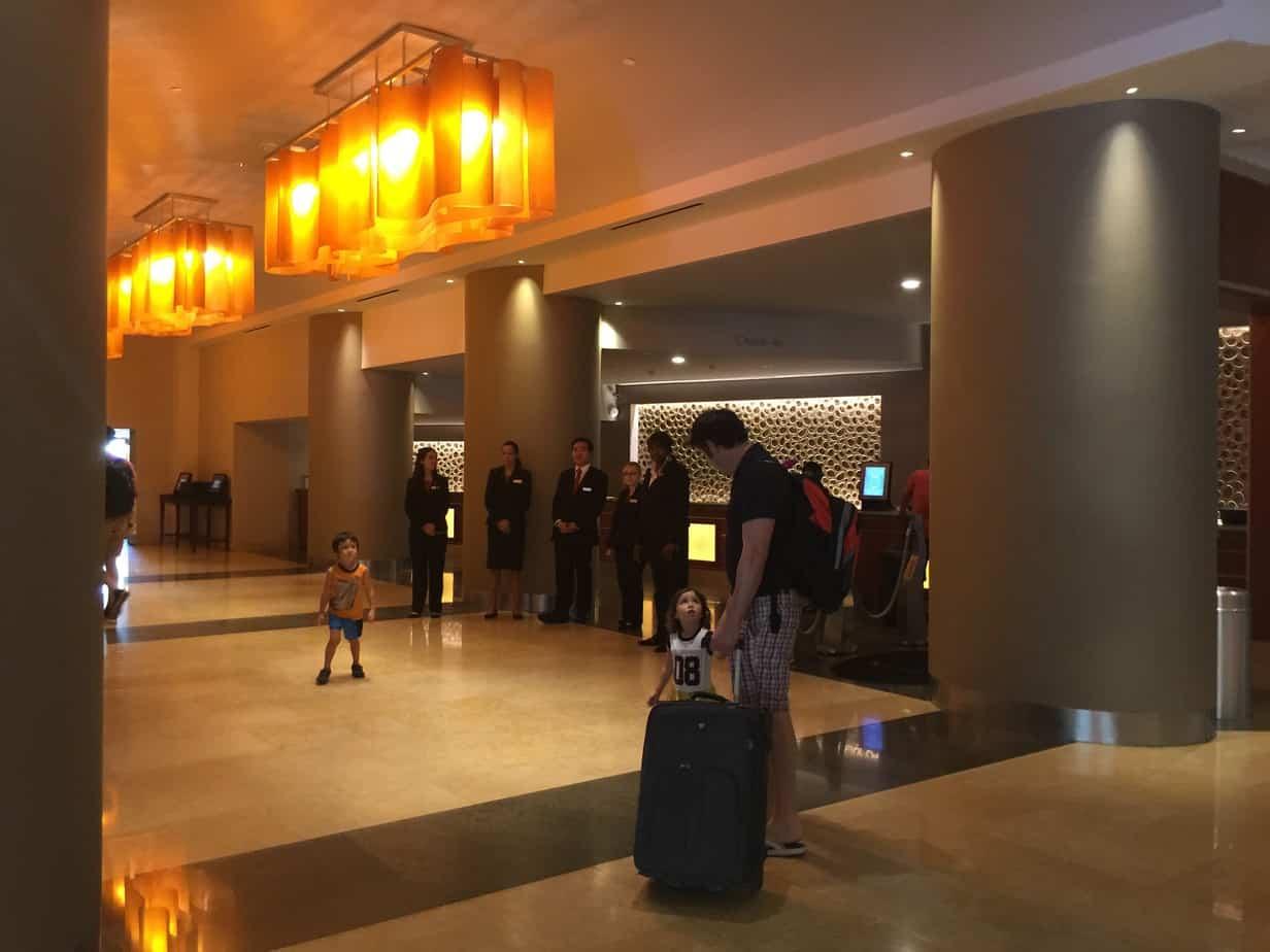 Anaheim Marriott – Service