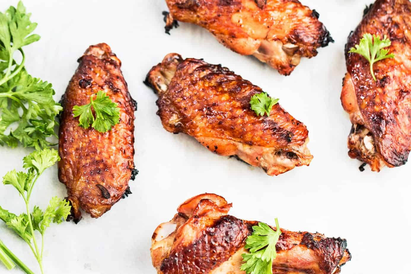 Five Spice Ginger- Soy Glaze Chicken Wings