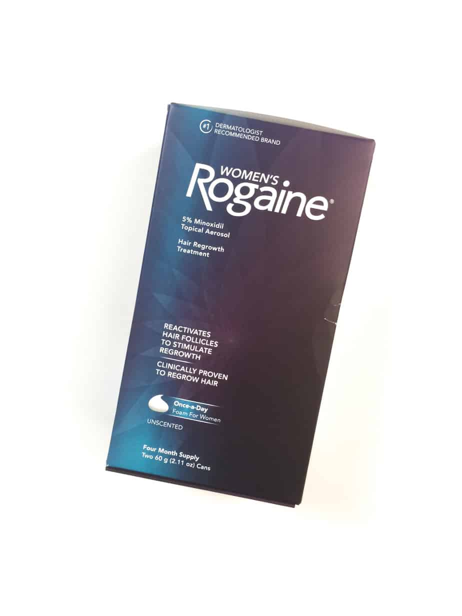 Regrow Hair with Women's ROGAINE® Foam + One-year supply of Women's ROGAINE® Foam Giveaway (ARV $150.00)
