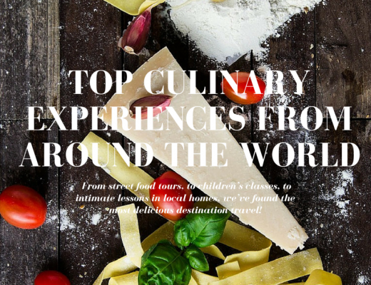 Top Culinary Experiences from Around the World