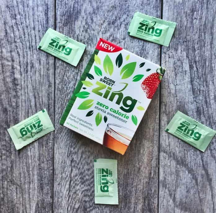 Zing™ Zero Calorie Stevia Sweetener!