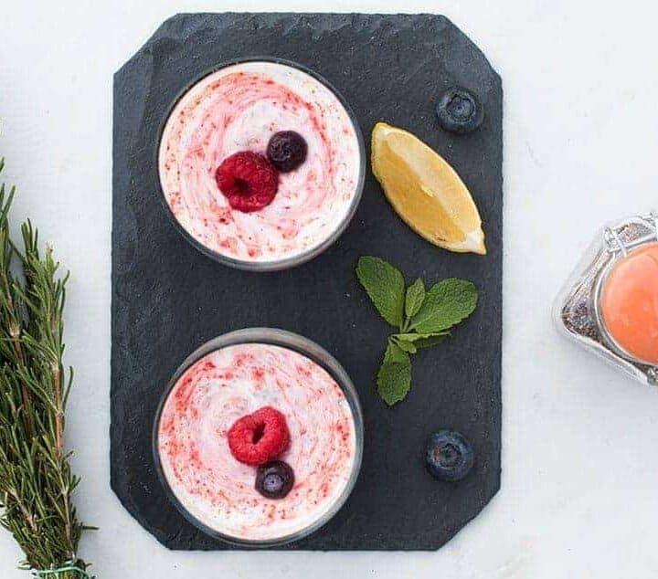 Post-Workout Healthy Snack : High Protein Frozen Yogurt