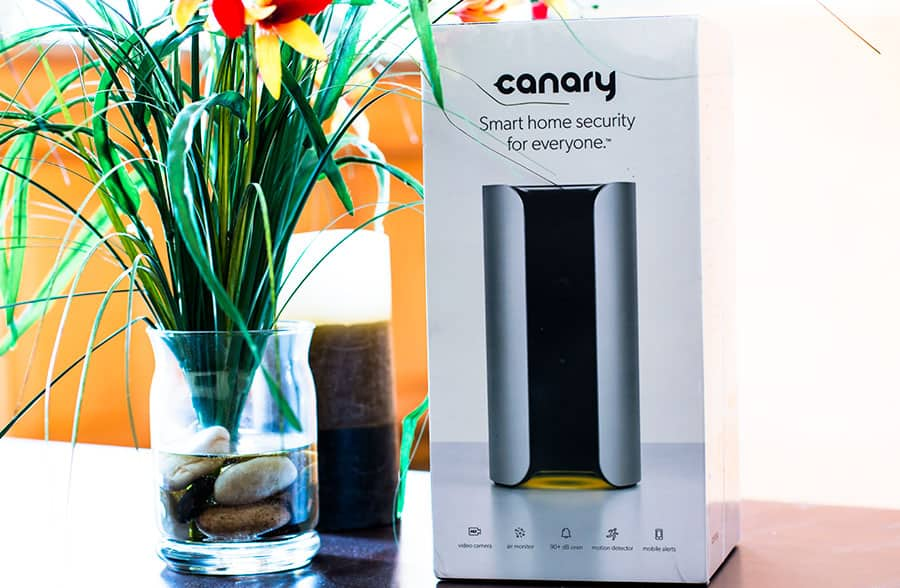 Connected Home Canary Security System 2015