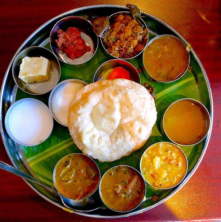 Chennai indian vegan foods
