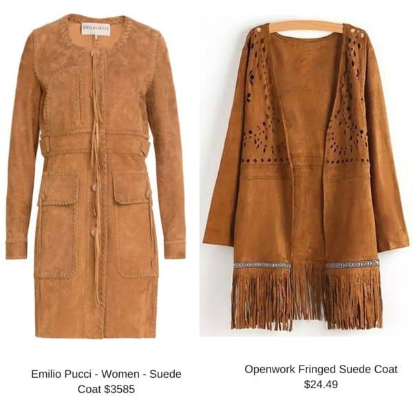 Emilio Pucci - Women - Suede Coat
