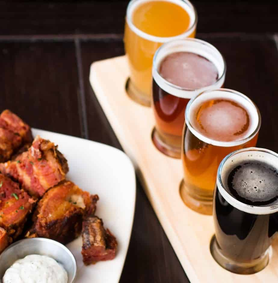 Pork Belly and Handcrafted beer