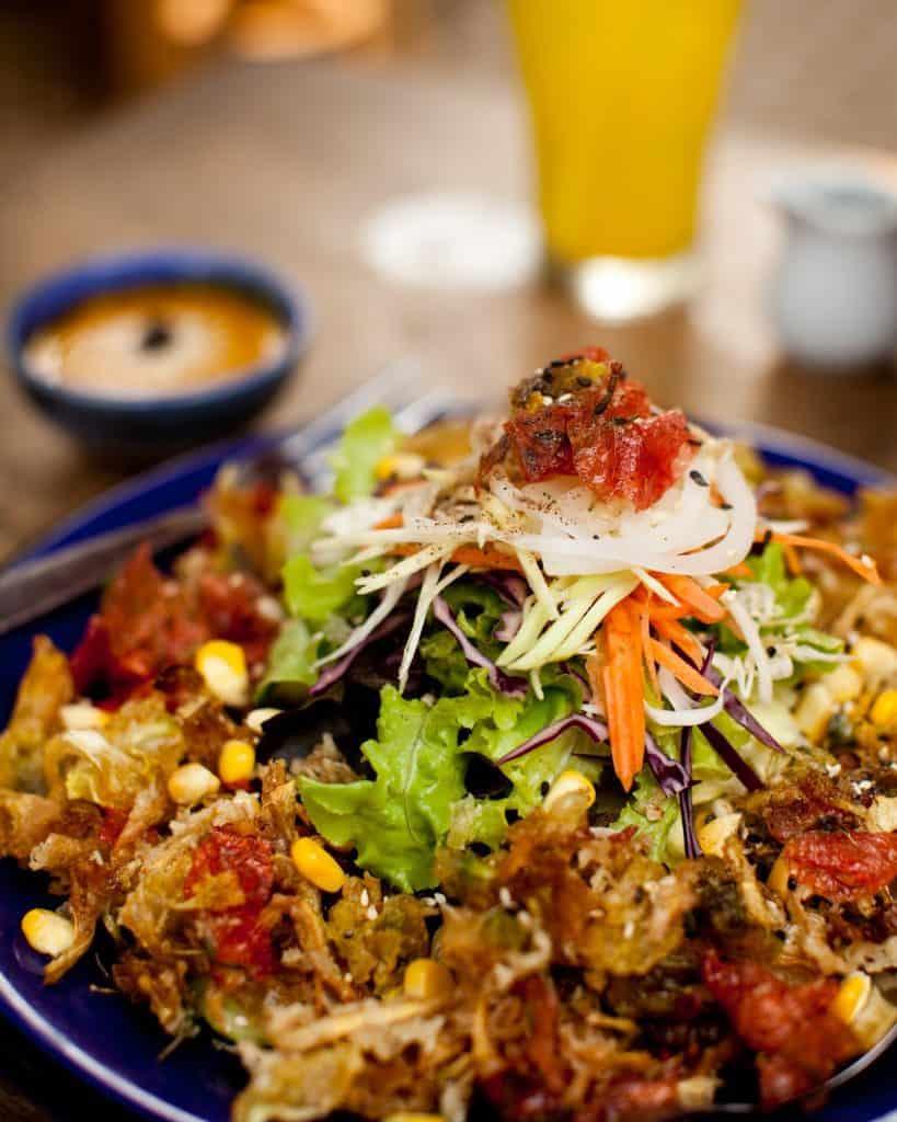Pun Pun Flower Salad