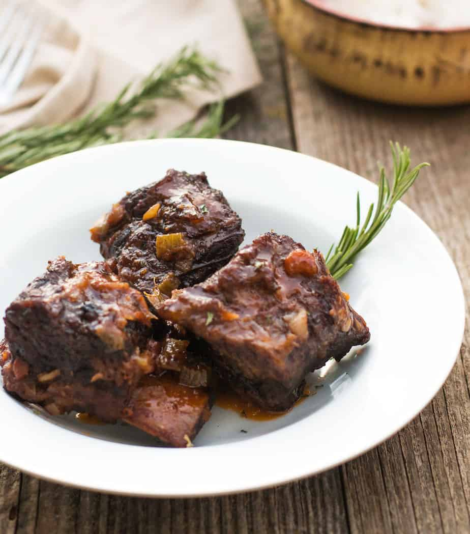 Simple Braised Beef Short Ribs Recipe | Posh Journal