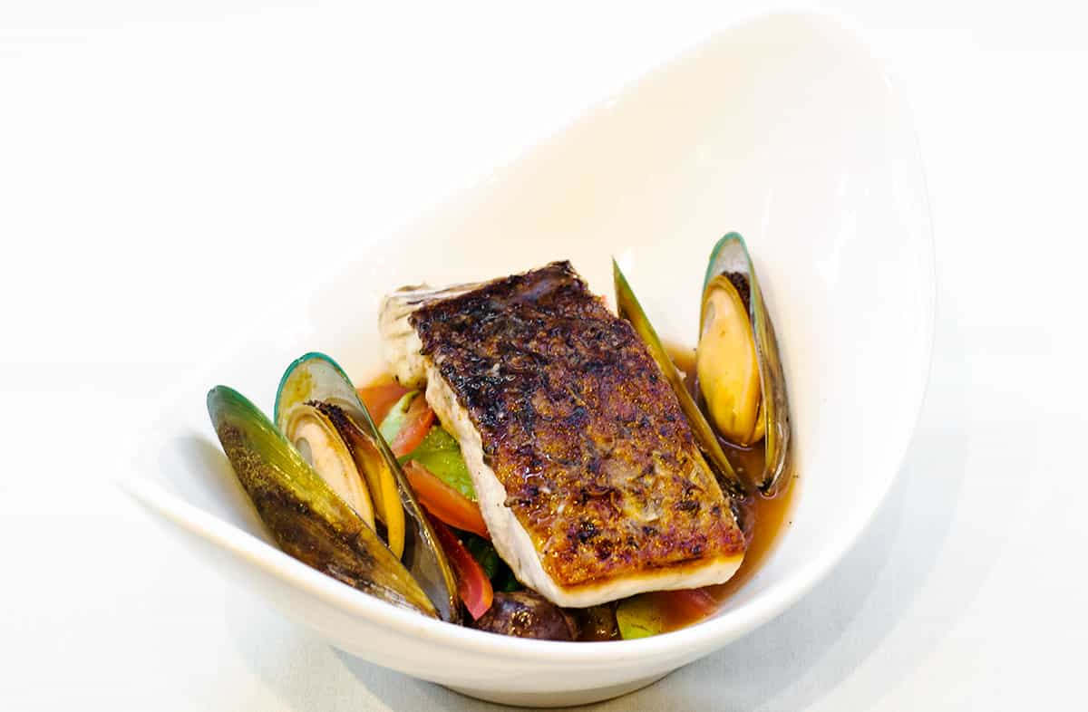 Crispy Skin Sea Bass