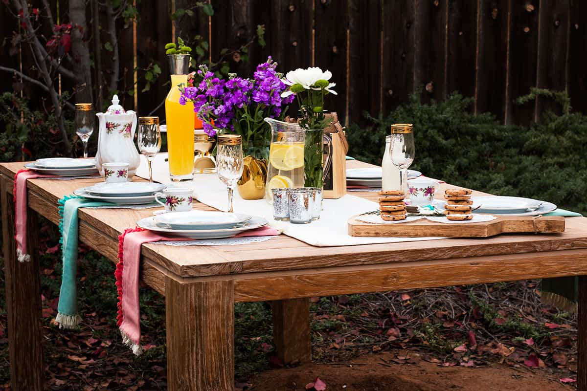 Outdoor Party Planning Ideas, Tips, Checklist and Recipes