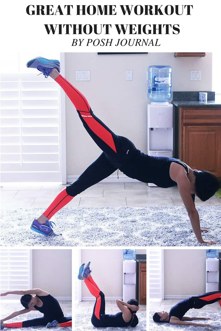 Great Home Workout Routines without Weights - Steps to a New You!