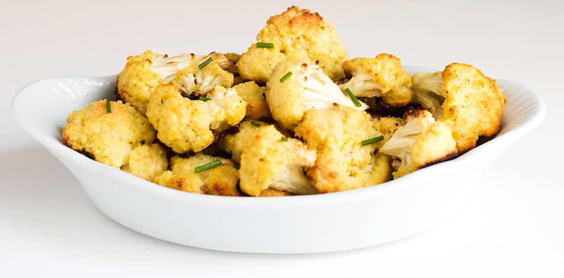Parmesan Roasted Cauliflower Recipe