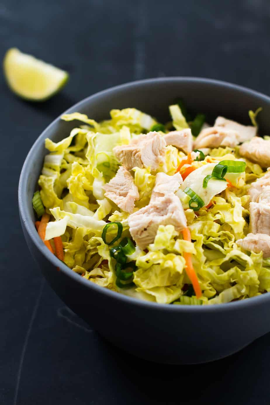 best chicken salad recipe with creamy peanut butter salad dressing
