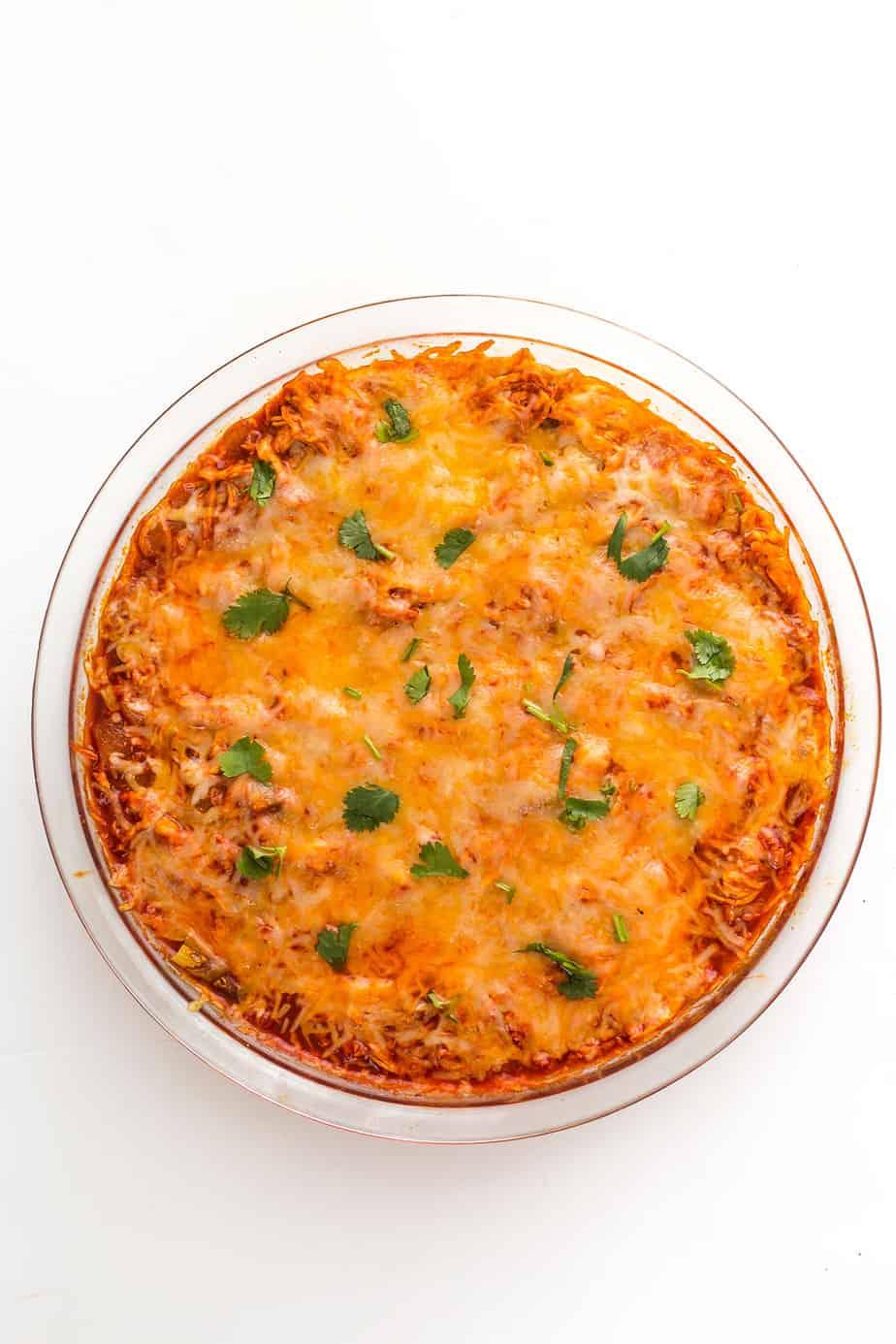 chicken-enchilada-dip