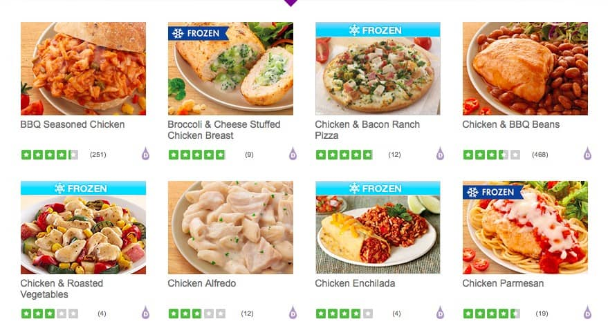 nutrisystem turbo 10 meal plans