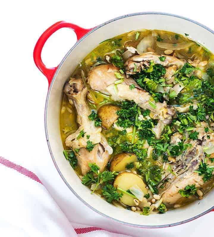one pot spanish chicken stew recipe