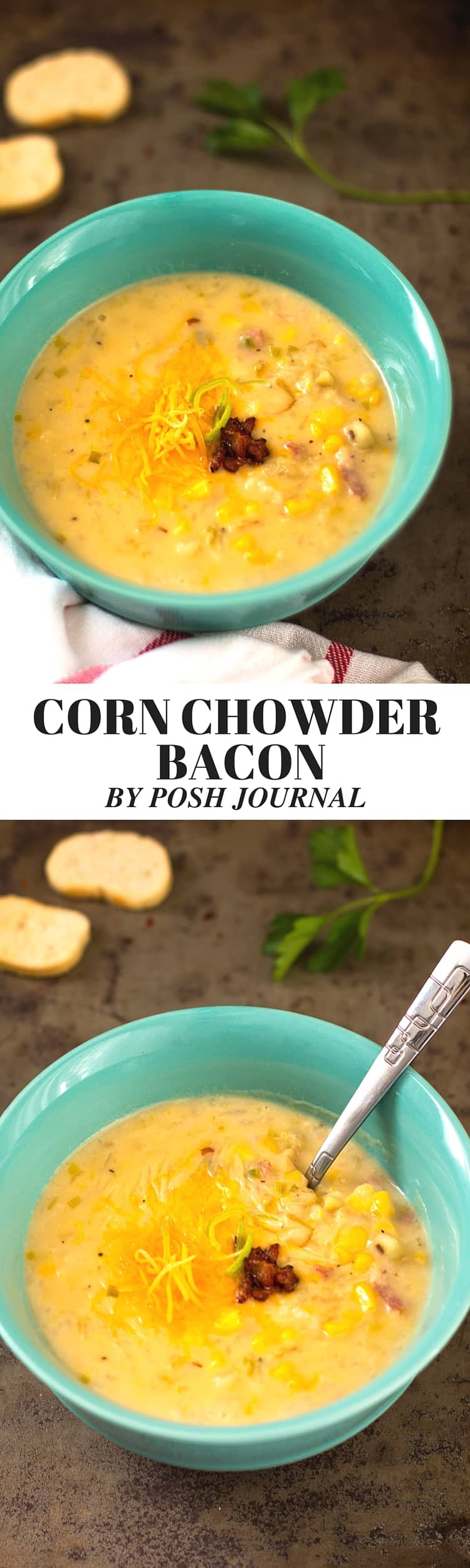 corn chowder bacon recipe