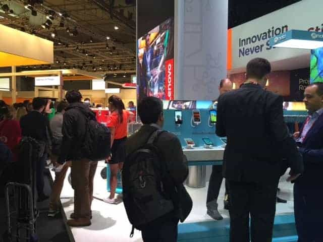 2016 Mobile World Congress in Barcelona