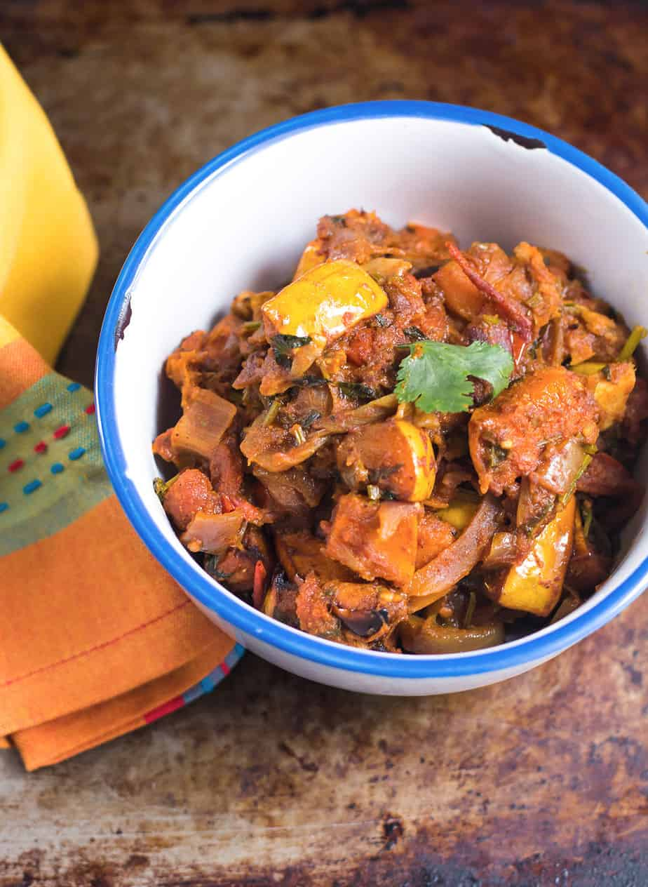 best vegan curry recipe with butternut squash