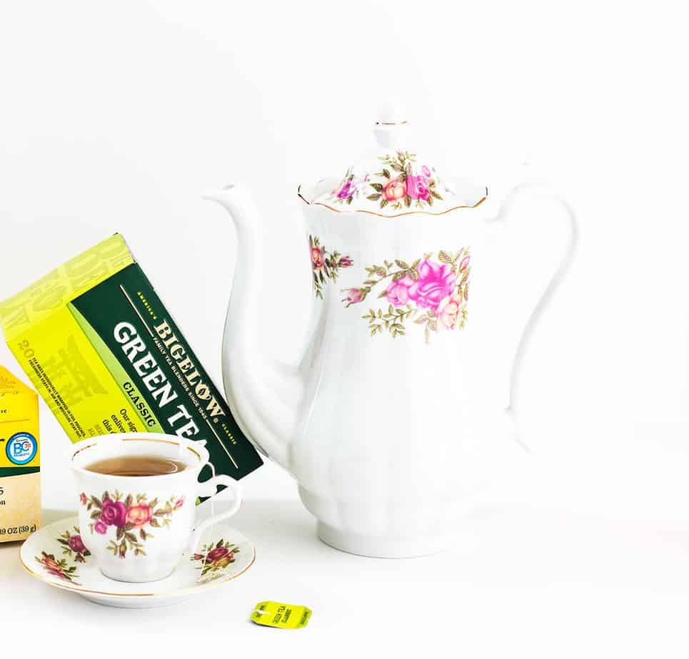 bigelow lemon ginger green tea