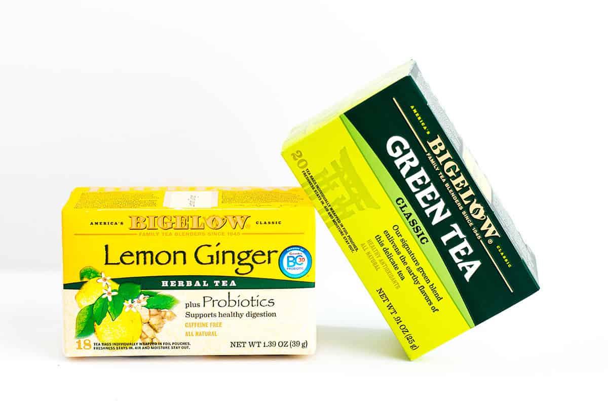 bigelow lemon ginger green tea