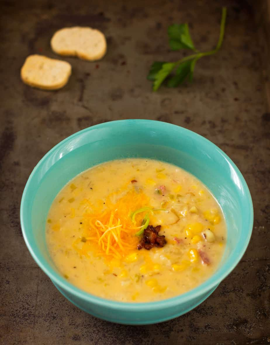 corn chowder bacon recipe