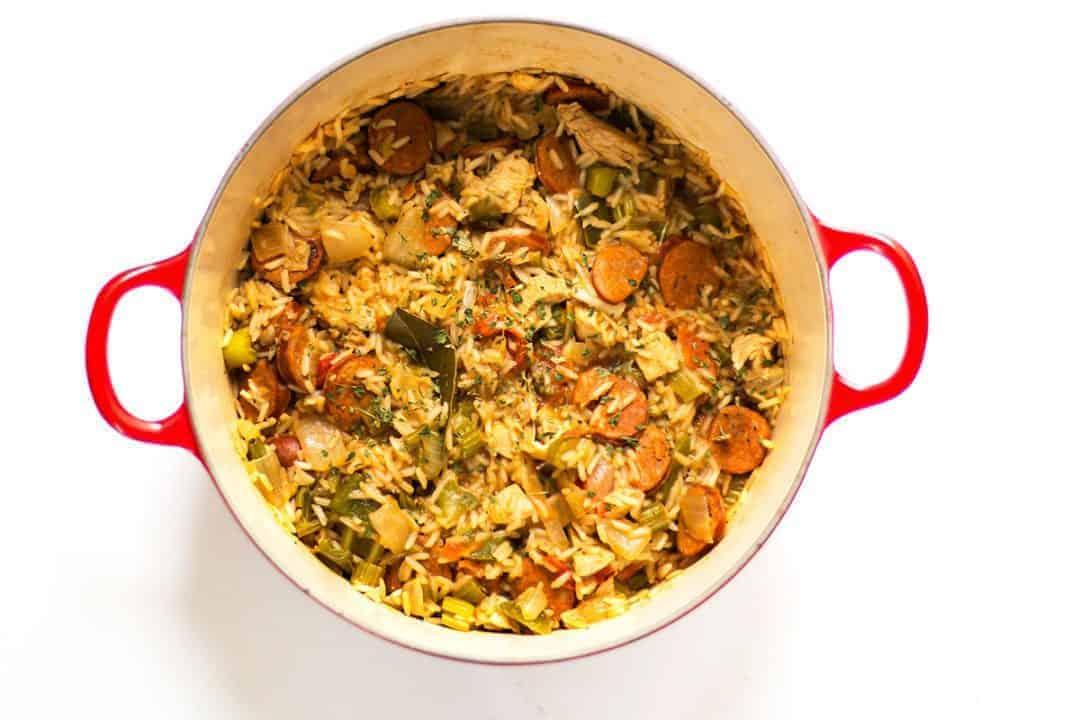 Easy chicken jambalaya recipe posh journal easy chicken jambalaya recipe forumfinder Gallery