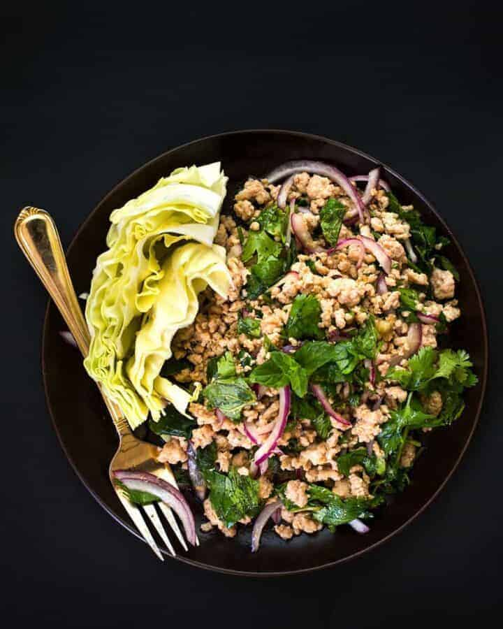 EASY CHICKEN LARB RECIPE