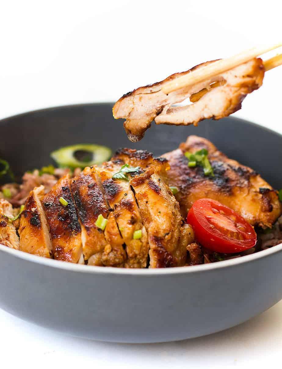 grilled honey glazed chicken recipe posh journal