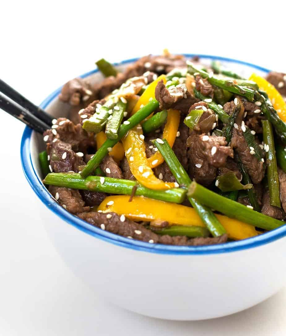 beef stir fry asian style
