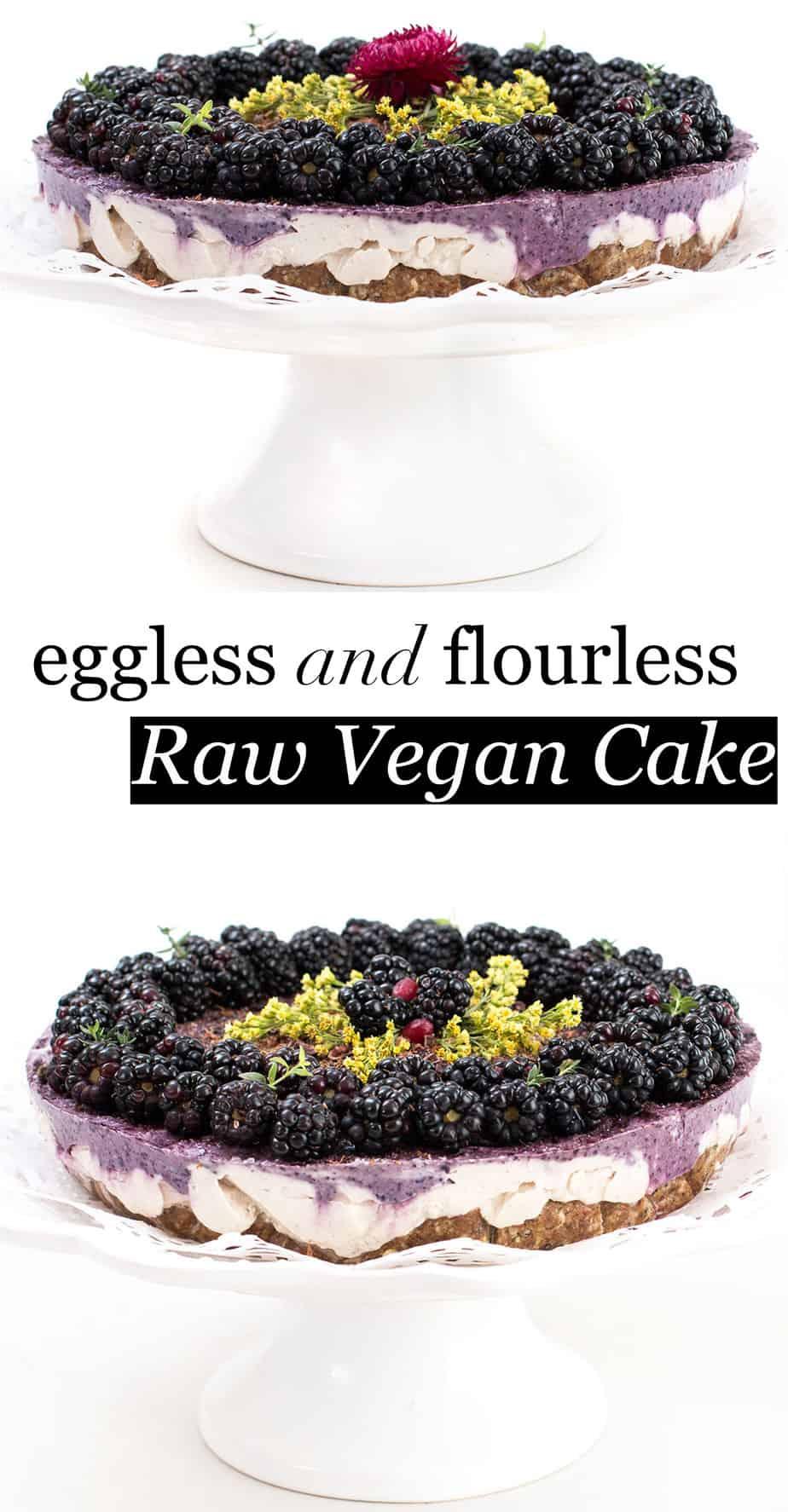 eggless-flourless-raw-vegan-cake