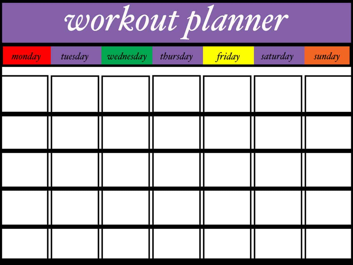 Flat Stomach Exercises + Free Workout Planner