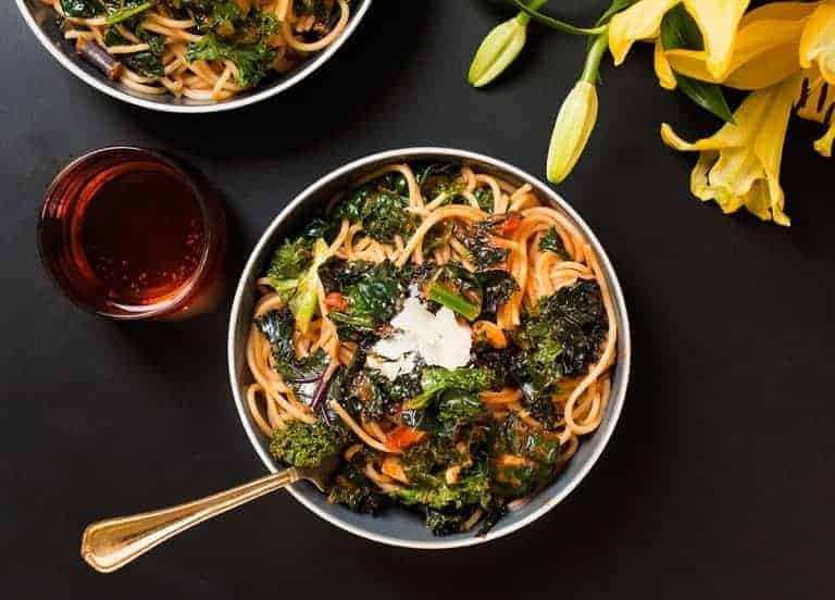 Kale Pasta Italian Inspired Meals For Spring With Bertolli Pasta