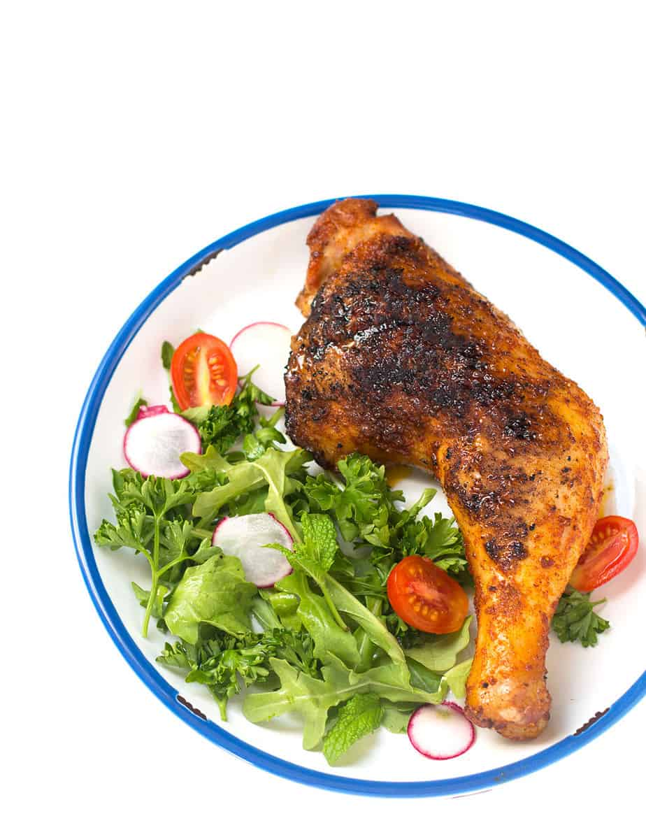 OVEN ROASTED ACHIOTE CHICKEN