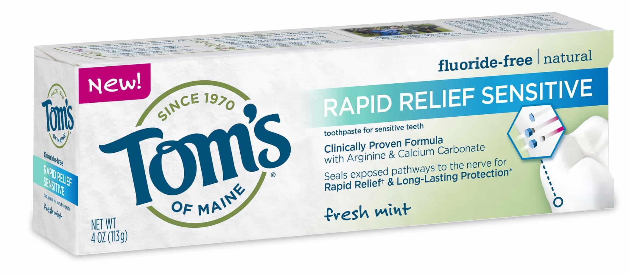 Tom's of Maine Rapid Relief