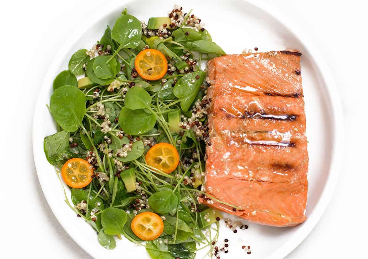 miso-salmon-watercress-salad