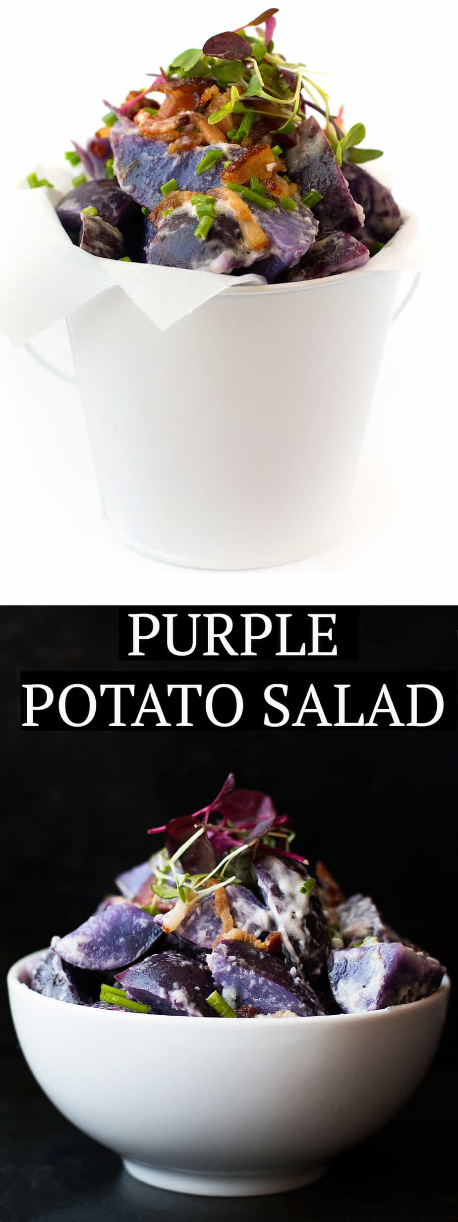 potato salad. The perfect party and picnic side dish. Serve hot or cold. Creamy texture with tangy flavor. The perfect balance of dill, apple cider vinegar, garlic oil