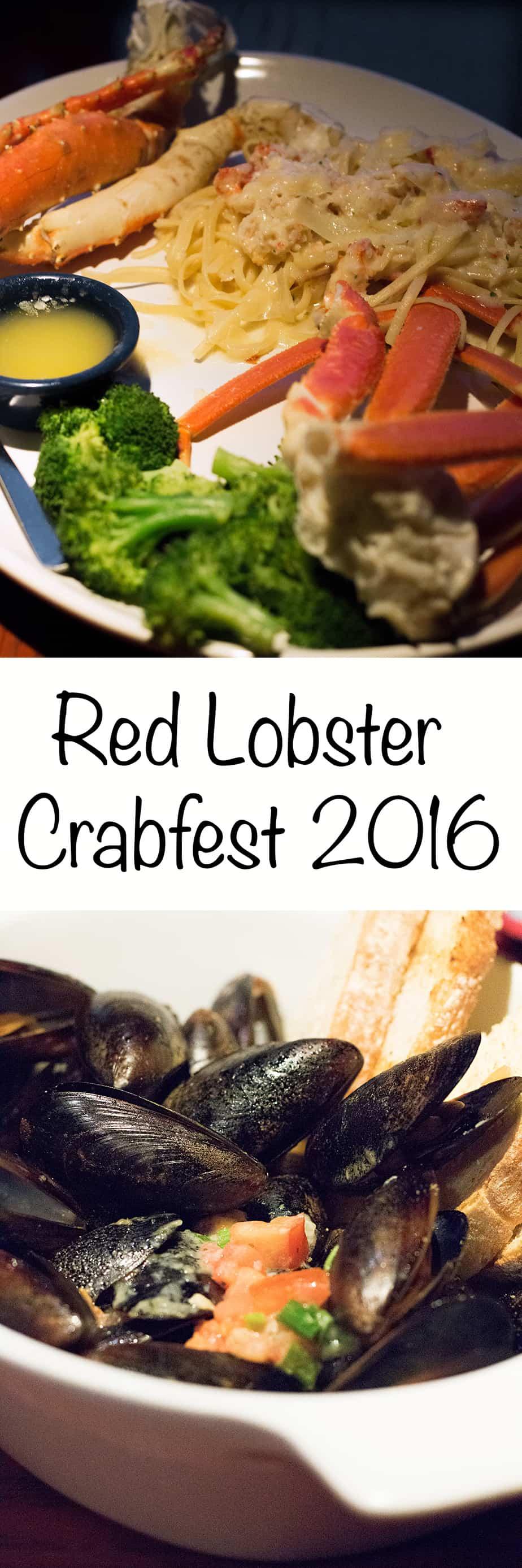 Red Lobster Crabfest 2016