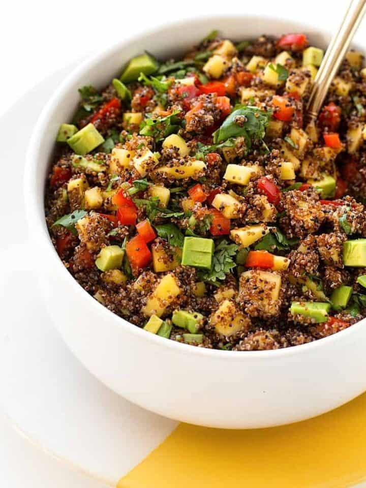 ancient grains kaniwa salad